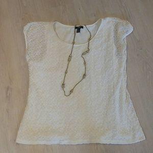 Alfani women size 1X lace top
